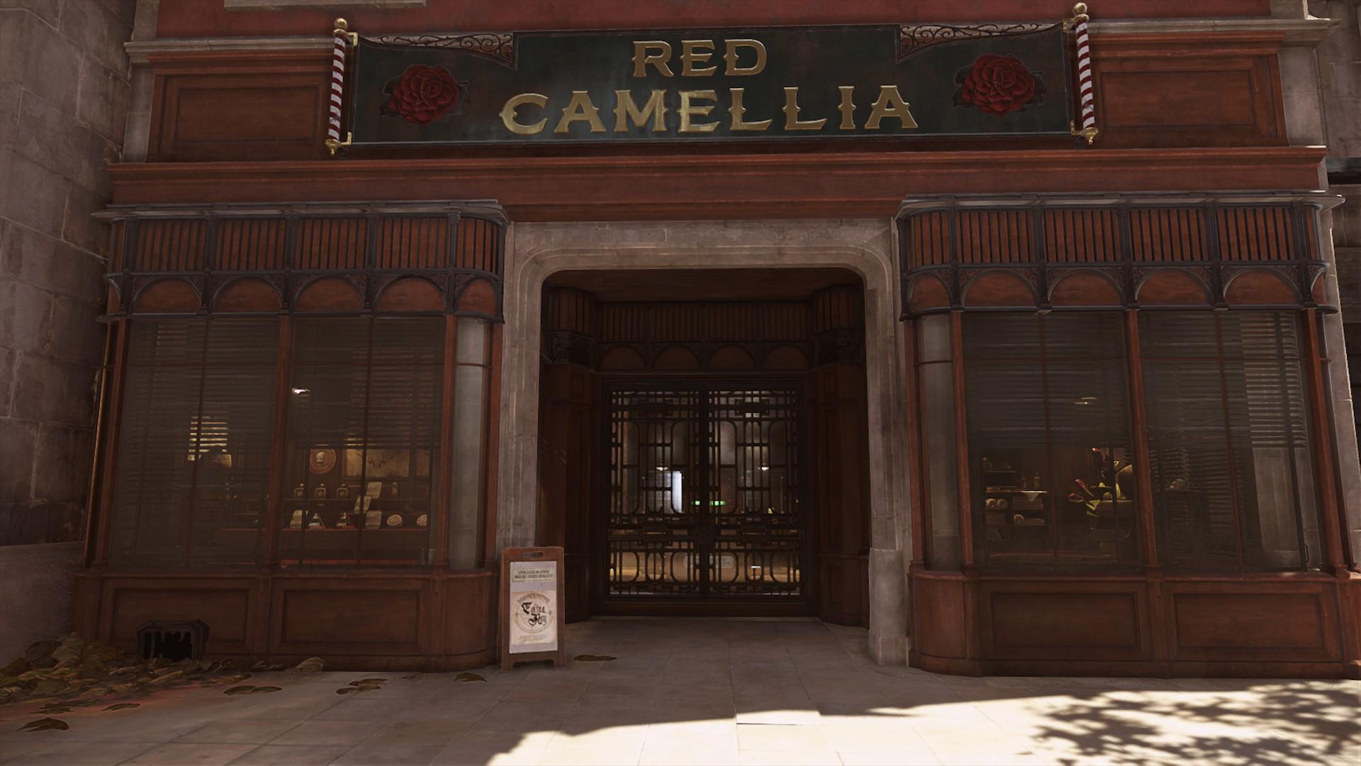 Красная Камелия