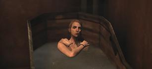 Каллиста в ванной