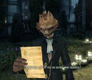 Лорд Шоу с письмом