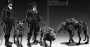 2 concept art overseers witch hunters
