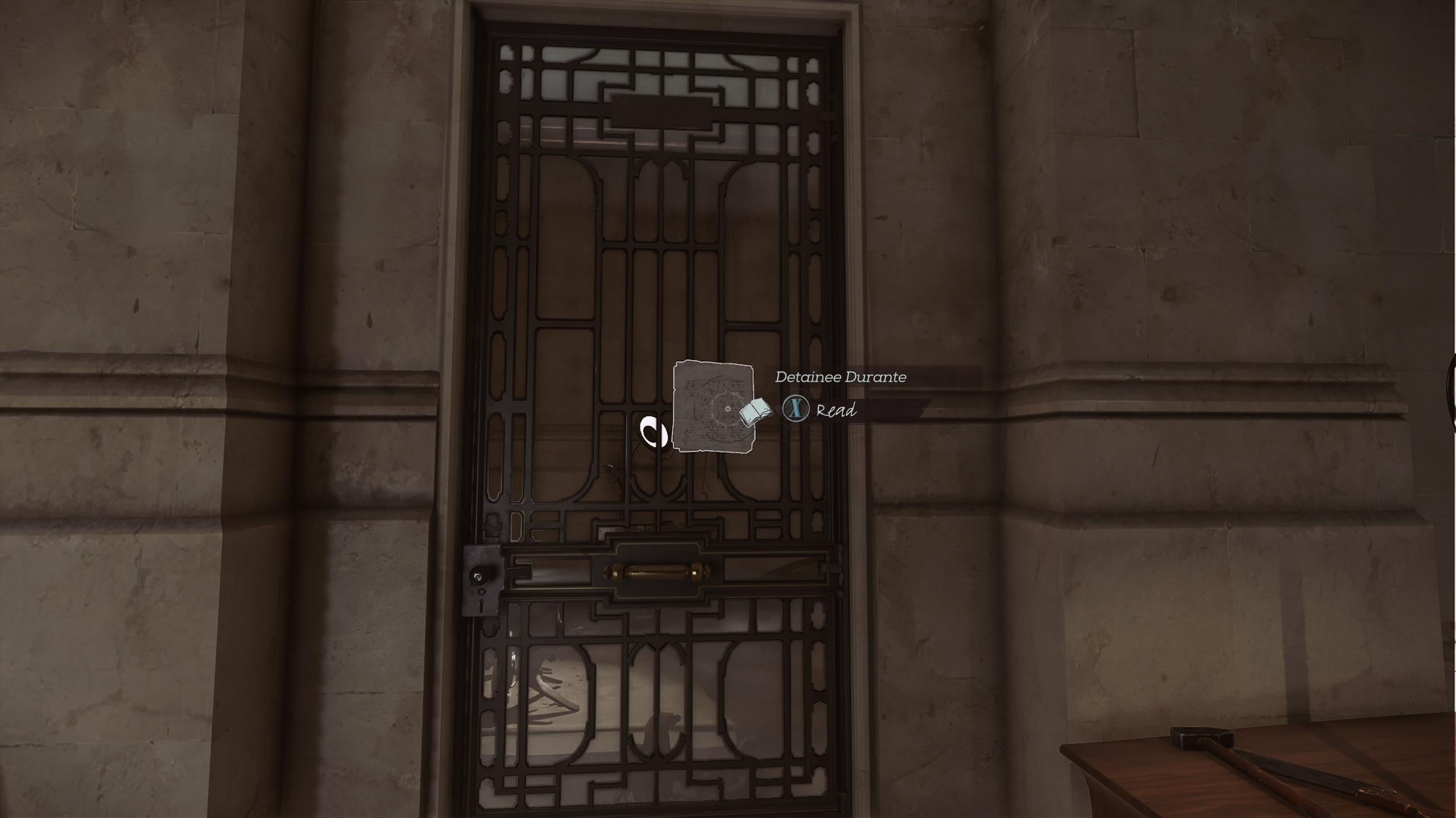 Detainee Durante