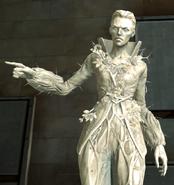 Timsh estate delilah statue