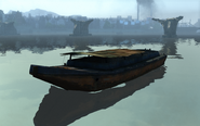 Boat on the wrenhaven