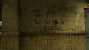 Graffiti butchers