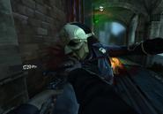 Back alley brawl