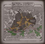 Batista District Map Projector