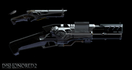 Pistol Concept art