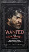Corvo wanted poster collector edition