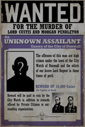 Unknown Wanted Poster Pendletons