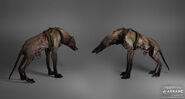 Dead wolfhounds concept