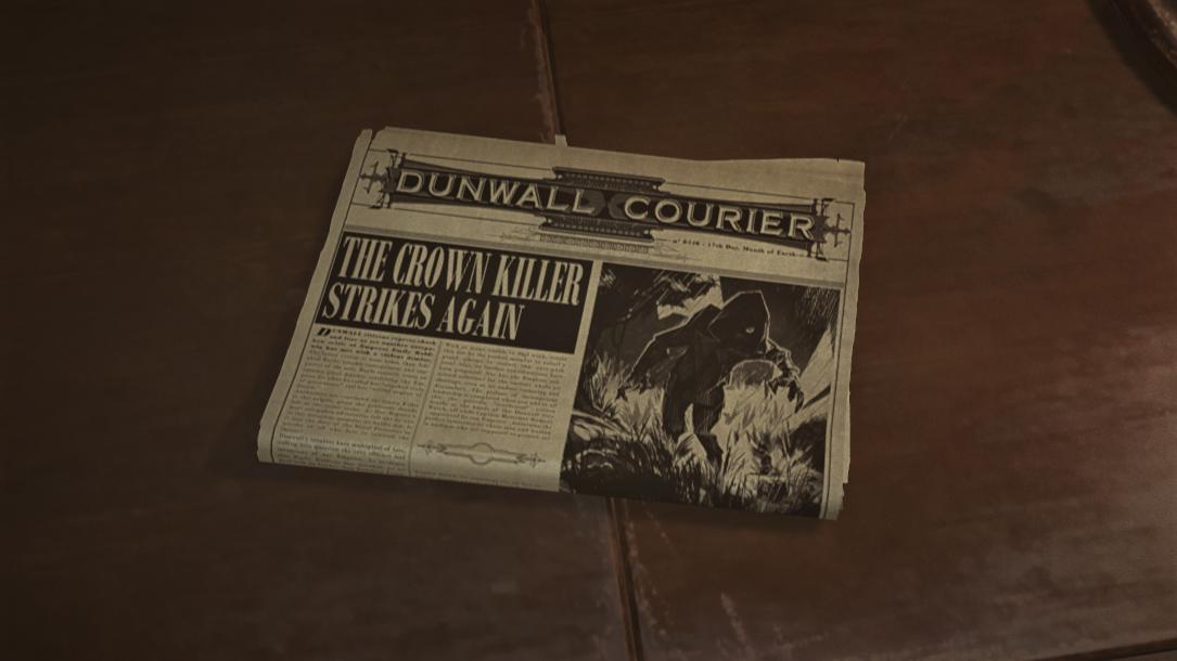 Crown Killer Strikes Again!