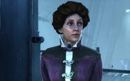 Unmasked female aristocrat