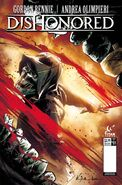 Titan comics, issue 1, cover B