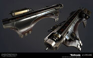 Voltaic gun render