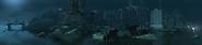 Old port district, night