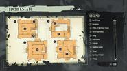 Timsh estate map