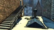 Hound pits roof