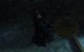 Billie Lurk choking a guard Eminent Domain TKoD