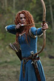 Once Upon a Time - 5x09 - The Bear King - Released Image - Merida with Bow and Arrow.jpg