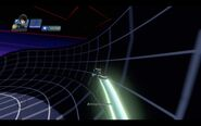 Gallery-TRON-Quorra and Light Cycle