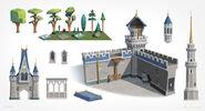 Castle parts concept