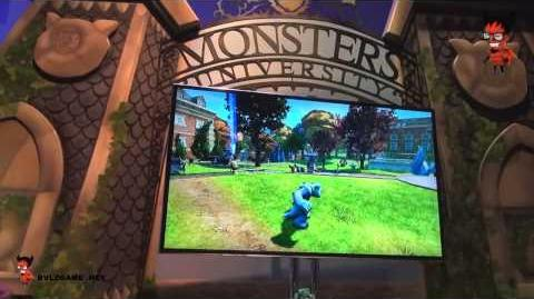 Disney Infinity Monster University Playset المرعبين في ديزني انفينيتي