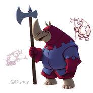 SNielson Inifinity Robin Hood Rhino