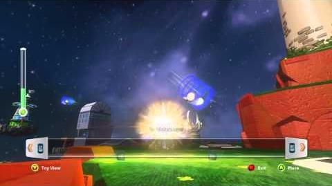 DISNEY INFINITY How to use Creativi-Toys (Super Cannon)