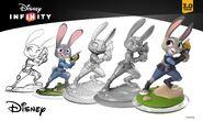 Judy Hopps Disney INFINITY Concept Art