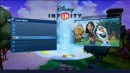 Disney Infinity Collection menu