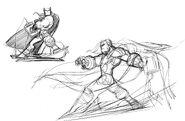 Thor Drawing
