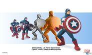 Captain America Development