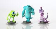 Disney Infinity Monsters University Figures