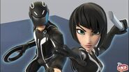 Tron gameplay preview Sam Flyn, Quorra, Light Jet and Light Cycle Disney Infinity