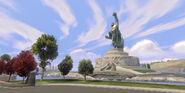 Incredibles-Play-Set-Heroes-Statue