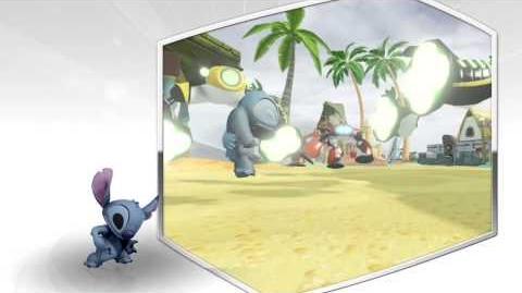 Disney Infinity 2.0 Stitch preview video.