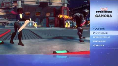 Gamora - Disney Infinity Marvel Super Heroes (2