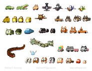 Cars critters