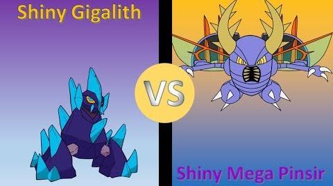 Pokemon_Y_-_Shiny_Gigalith_Versus_Shiny_Mega_Pinsir