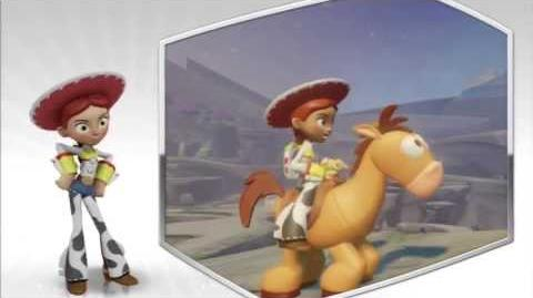 Disney Infinity - Jessie Character Gameplay - Series 2