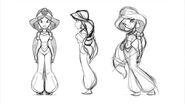 Jasmine Conceptart