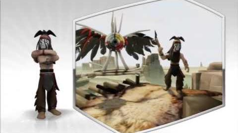 Disney Infinity - Tonto Character Gameplay - Series 1