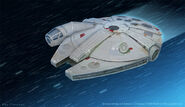 STAR WARS Millennium Falcon Ben Simonsen