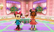 Minnie Mouse and Mii Photos