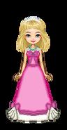 Cinderella's Pink Dress Before