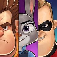 Disney Heroes- Battle Mode logo