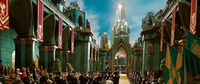 The Entrance to The Emerald City from Oz The Great and Powerful