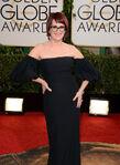 Megan Mullally 71st Golden Globes