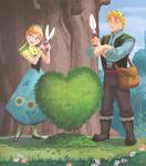 Melting Hearts Illustration 3