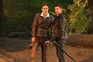 Once Upon a Time - 7x02 - A Pirates Life - Photogrpahy - Henry and Hook